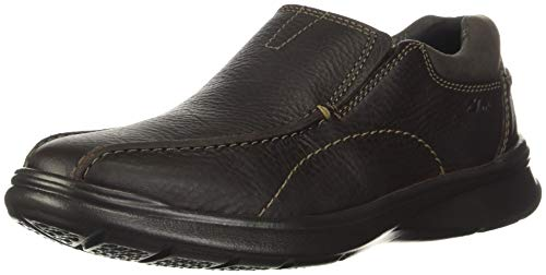 Clarks Men's Cotrell Step Slip-On Loafer, Brown Oily, 12 W