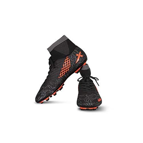 2. Vector X Men's Orange Synthetic Jaguar Football Shoes