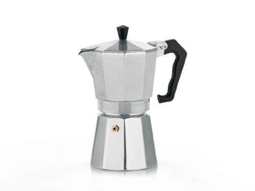 Kela 10592 Espressokocher, Für 9 Tassen, Aluminium, Italia