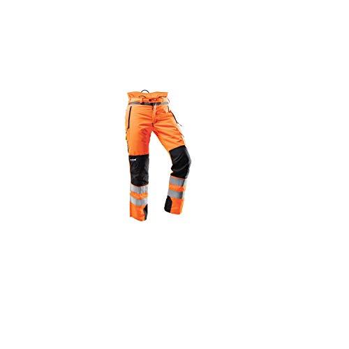 Pfanner Hi-Vis Orange Chainsaw Pants - Large