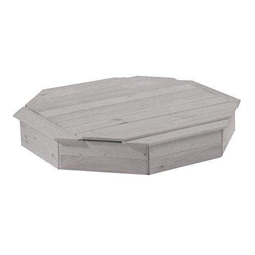 Roba zandbak, verschillende maten en uitvoeringen beschikbaar Zandbak 8-hoekig mit Deckel Zandbak 8-hoekig met deksel
