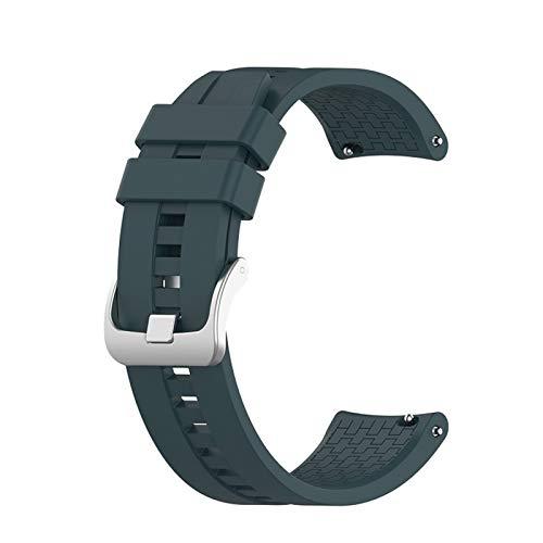 DXFFOK 22 mm Banda de Correas de muñeca para Huawei Watch GT 42mm 46mm SmartWatch Strap para Huawei Watch GT 2 GT2 46mm Bandas Pulsera de Banda Deportiva Correa de Reloj