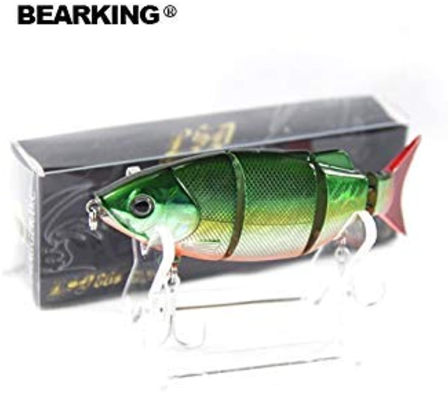 A+ top quty Fishing Lures, 80mm 10g swimbait, Bear King Each lot 5pcs diffet colors