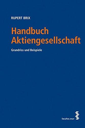 Handbuch Aktiengesellschaft Grundriss und Beispiel