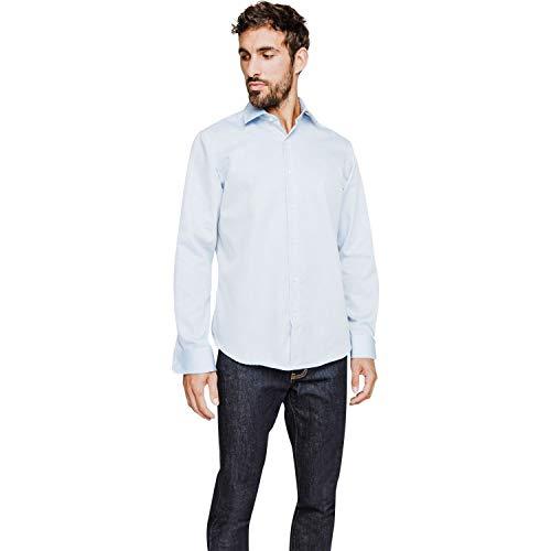 Arrow hemd Regular Fit zonder strijken met subtiele opdruk