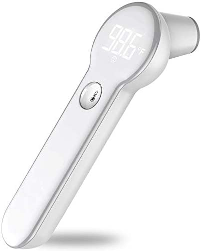 FDoc Forehead Thermometer for Babies Adults Children 1 Second Results Infrared IR Digital Thermometer product image
