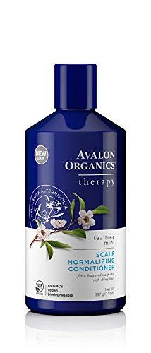 Avalon Organics Acondicionador para cuero cabelludo de menta Tea Tree 406 ml