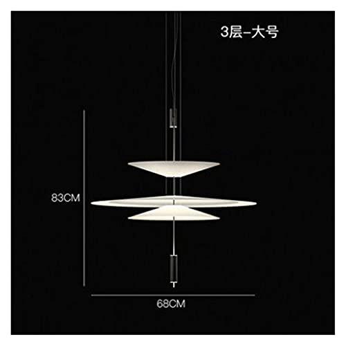 Lámpara De Techo Luz de araña nórdica LED LED Lámpara colgante Sala de estar Lustre Comedor Cocina Cocina Decoración para el hogar Lightures chandelier (Body Color : E)