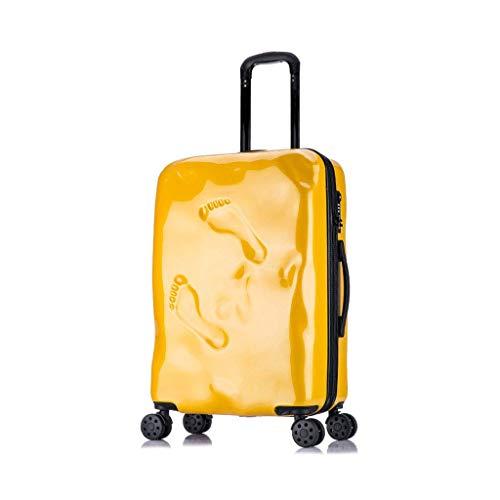 Jolly El Viaje de ABS rígido y súper Ligero Lleva la Maleta de Equipaje de Mano de Cabina con 4 Ruedas (Tamaño : 41 * 27 * 65cm)
