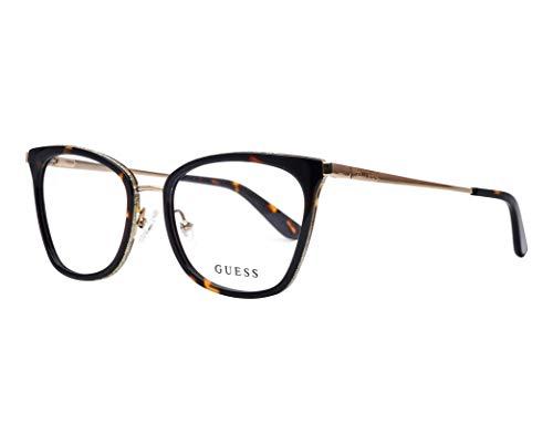 Guess Brille für Vista GU2706 056 havana rahmenmaterial: metall größe 52-mm-brillen-frau
