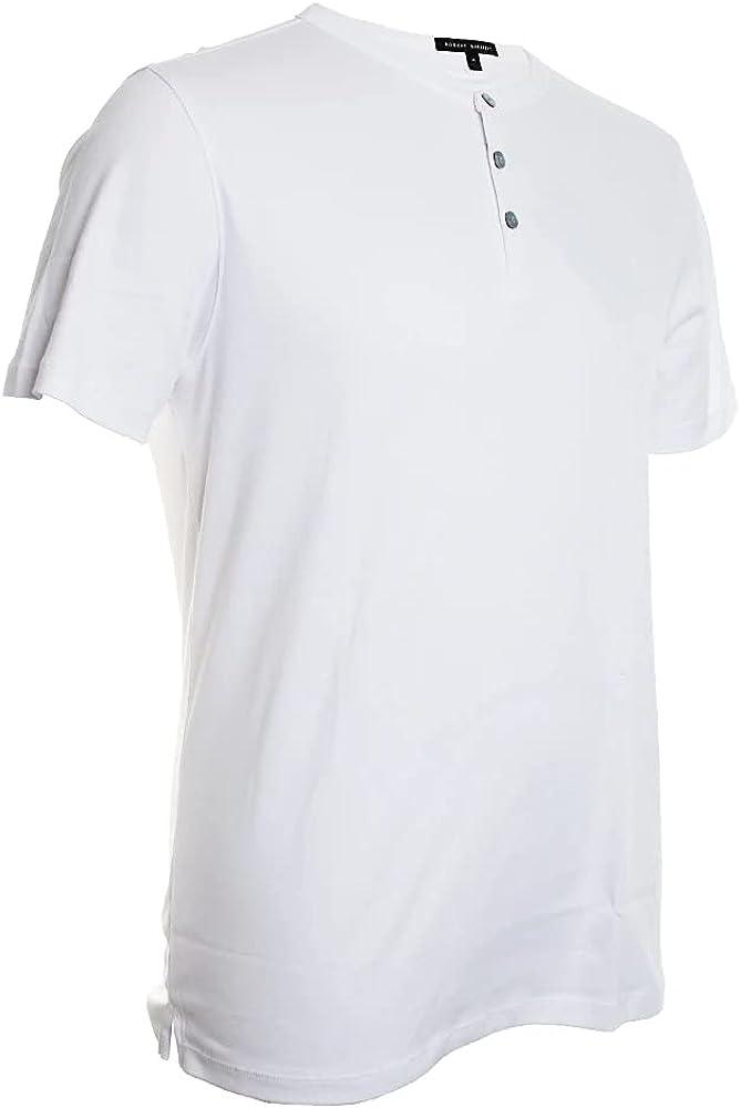 Robert Barakett Georgia Short Sleeve Henley Shirt