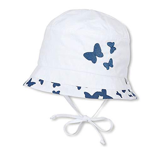 Sterntaler 1411971 Mädchen Fischerhut Sommermütze Sonnenhut mit UV Schutz 50+ (45)