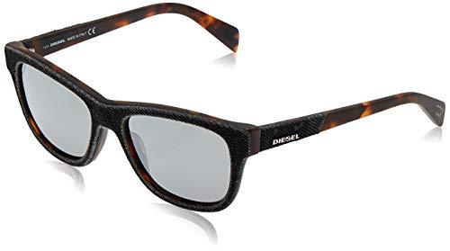 Diesel Sunglasses Dl0111 05C 52 Gafas de sol, Gris (Grau), Unisex Adulto