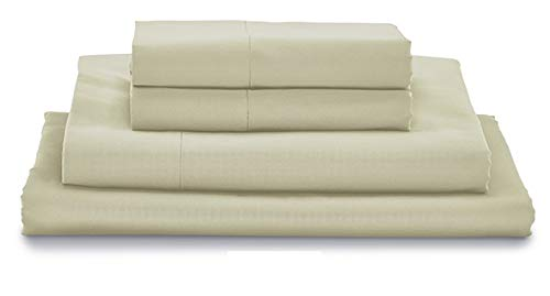 My Pillow Bed Sheet Set 100% Certified Giza Egyptian Long Staple Cotton (Queen, Taupe)