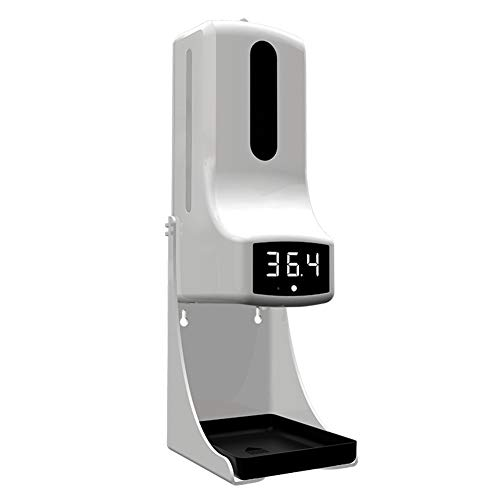 FJLOVE Máquina de Medición y Desinfección de Temperatura Dispensador Automático de Alcoholsin Dispensador Automático de Alcohol con Sensor,para hogar,Oficina,Hotel,Hospital Fxwj
