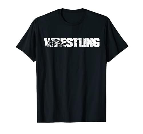 Herren Wrestling Catcher Ringer Ringen Wrestler T-Shirt