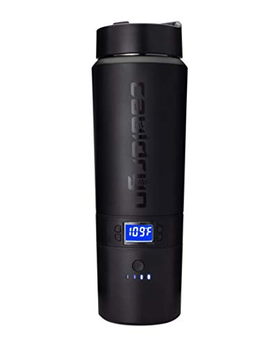 Cauldryn Coffee Travel Mug – 16 Ounce, Heated, 10 Hour Battery Life, Temperature Controlled Smart Mug, App Control