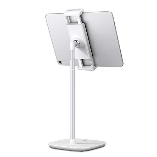UGREEN Ständer Tablet Halter Ständer Tablet Halterung höhenverstellbare Handyhalterung Multi Winkel Halter kompatibel mit iPad Air/iPad Pro/Surface Pro 7 / Huawei MediaPad T5 / Galaxy Tab