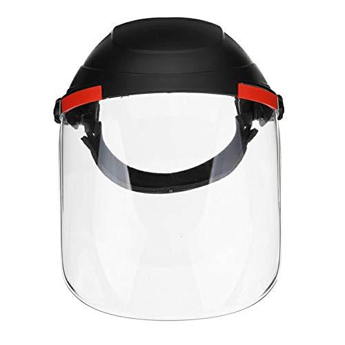 NIVNI Protección laboral, Casco de Soldadura Lente Transparente Anti-UV Anti-choque de Soldadura Casco de la Cara Escudo de Soldadura Máscara