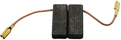Escobillas de Carbón para VIRUTEX LRE46L lijadora - 6,4x10x22,5mm - 2.4x3.9x8.7