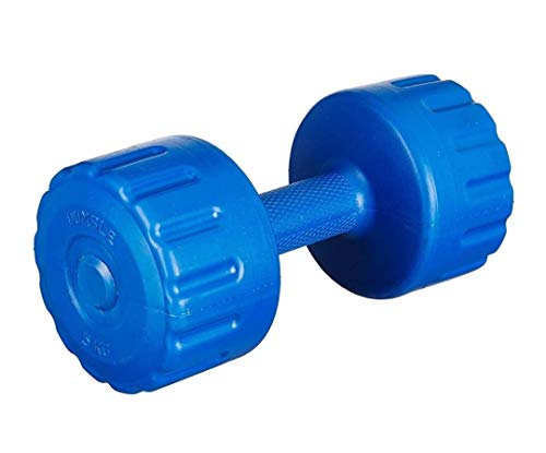Giovane Dumbbells Set of 5 Kg{Pack of 2} for Unisex for Home Gym