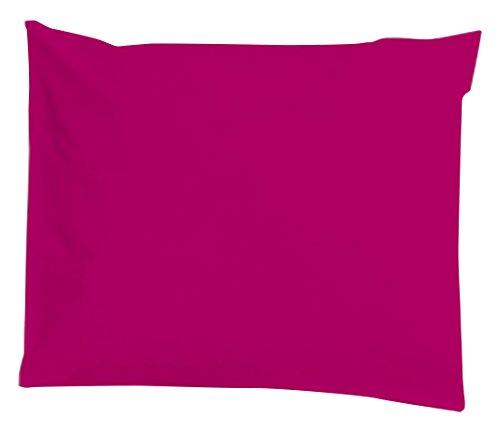 Taie d'oreiller imperméable et anti-acariens 40x60cm Berry Pink - Louis Le Sec