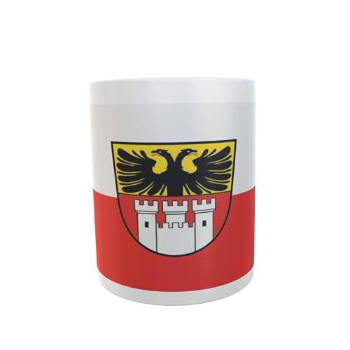 U24 Tasse Kaffeebecher Mug Cup Flagge Duisburg