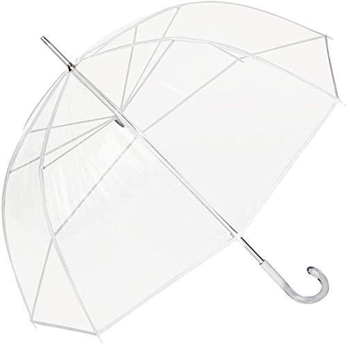Paraguas Largo Cacharel Transparente/Blanco