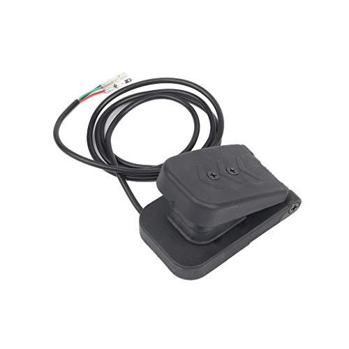 Romsion Reposapiés y pedal 5 V pedal de control de pie eléctrico...