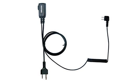 NAUZER PTT-32-S Midland Cable con Micro PTT Compatible Casco PELTOR SPORTTAC Caza