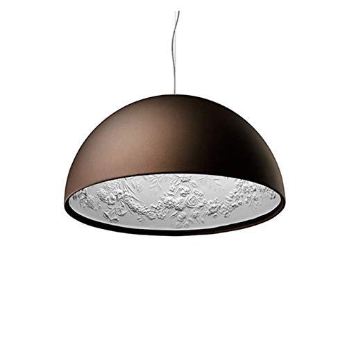 RongWang Italienischer Kronleuchter Für Wohnzimmer Schlafzimmer Küche Designer Vintage Loft Kronleuchter Licht (Color : Brown Not with Bulb, Size : A)