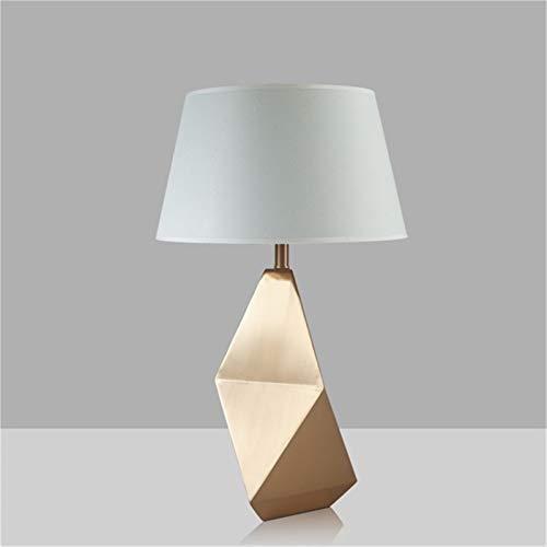 HGDD Lámpara de Piso Lámpara de Mesa Moderna Bronze LED Escritorio Luz de diseño Creativo Decorativo para el Dormitorio casero Oficina de la Sala de Estar