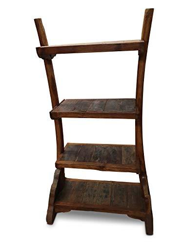 elbmöbel.de Chao - Estantería (madera de teca reciclada, 174 cm)
