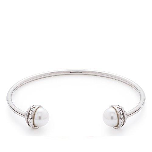 Leonardo Jewels Damen Armreif Vero Edelstahl Perle beige 015820