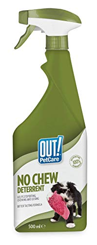 OUT! Disuasorio sin Masticar, 500 ml.