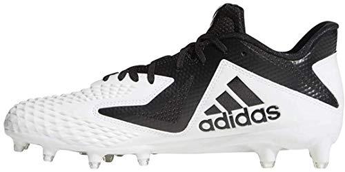 adidas Herren Freak X Carbon Mid Fußballschuh, Weiá (Weiß/Schwarz), 45.5 EU