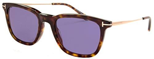 Tom Ford FT0625 52V 53 Monturas de gafas, Marrón (Avana ScuraBlu), 53.0 Unisex Adulto