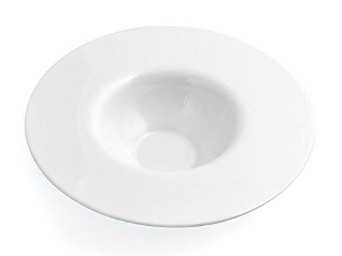 Luminarc Impression Assiette pour Risotto en Zenix, Blanc, 24 x 24 x 6 cm