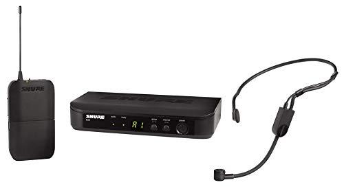 Shure BLX14E/P31 - Sistema de radio con transmisor de bolsillo y micrófono de condensador PGA31 Performance