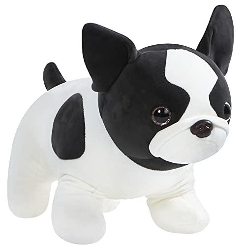 CozyWorld 15.5'' French Bulldog Stuffed Animals Pillow Cute Plush Toys Birthday Gifts for Boys and Girls