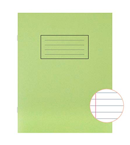 3 x Silvine A4 Exercise Lined Book 75gsm 80 Pages A4 RED 8mm Feint /& Margin