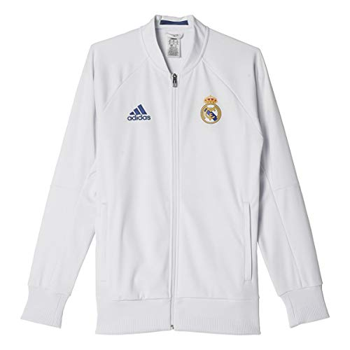 adidas Real Madrid 16/17 Home Anthem Crywht/RawPur Jacket - XS