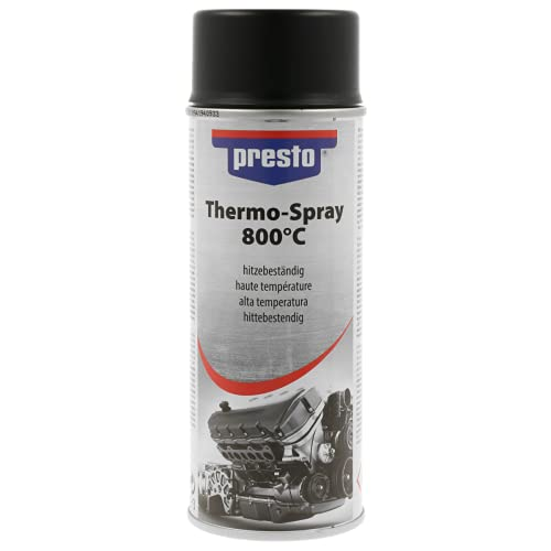 presto 428726 Thermo-Lackspray 800°C, 400 ml, Thermo Schwarz