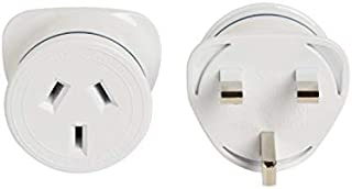 Korjo International Power Adapter, 4.5 Centimeters, White