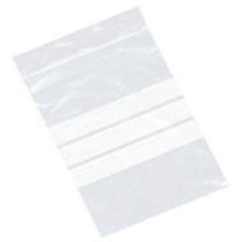 500 x WRITE ON PANEL GRIP SEAL CLEAR BAGS SELF RESEALABLE POLY PLASTIC UK