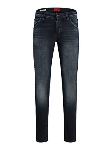 JACK & JONES Jjiglenn JJFOX AGI 104 50SPS Noos Jeans, Blu Denim, 32W x 32L Uomo