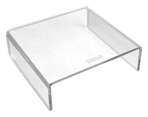 DESQ 1539 Monitorständer von hoher Qualität, 6 mm, transparent