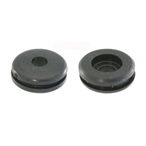 Gomma/passacavo per rubinetto benzina della leva per Vespa PX My & T5–Ø 22mm, Nero
