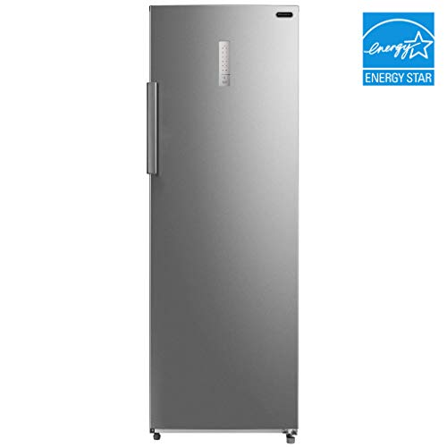 Whynter UDF-0831SS 83 cuft Energy Star Digital Stainless Steel Deep Refrigerator Upright Freezer cu ft Silver