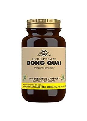 Solgar Dong Quai Vegetable Capsules - Pack of 100